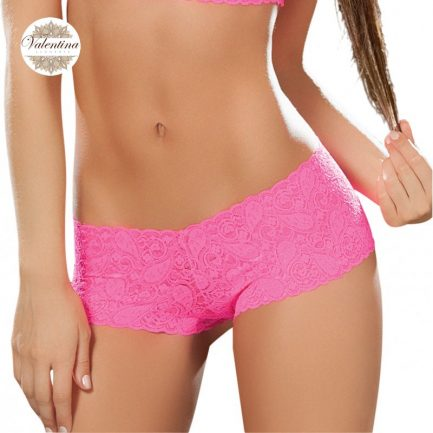 lace bodyshort pink 90