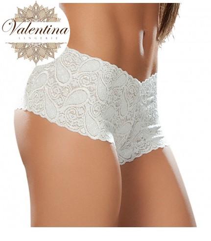 lace bodyshort white 90