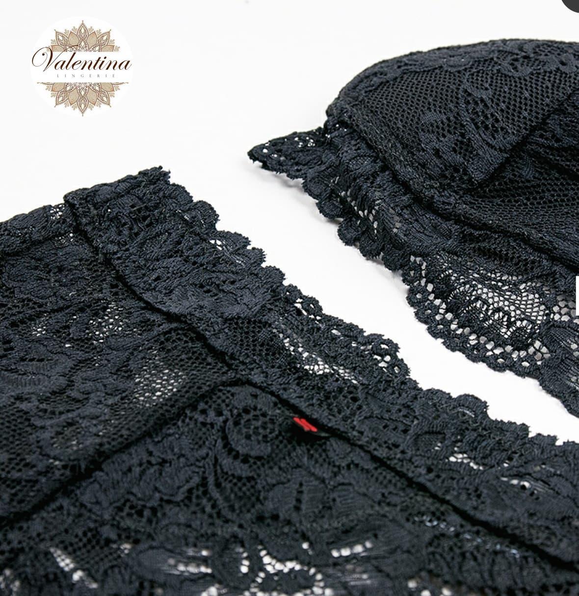 ensemble cheez noir valentina lingerie 1