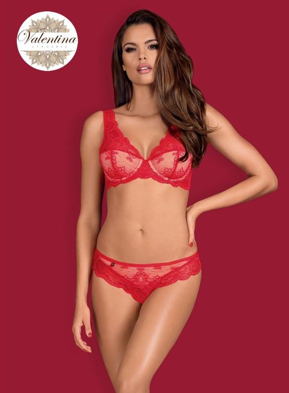 853 set 1 ensemble rouge dentelle obsessive lingerie