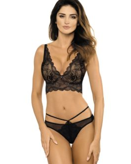 Demi-corset push-up en dentelle Charlize