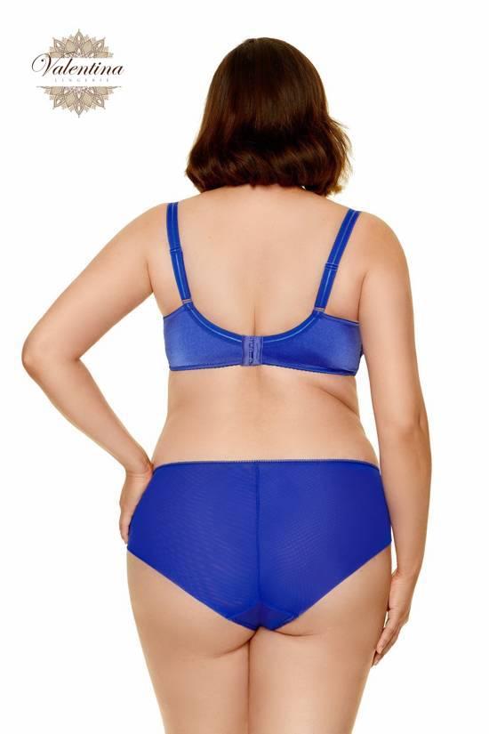 soutien gorge dentelle bleu valentina lingerie pulpeuse