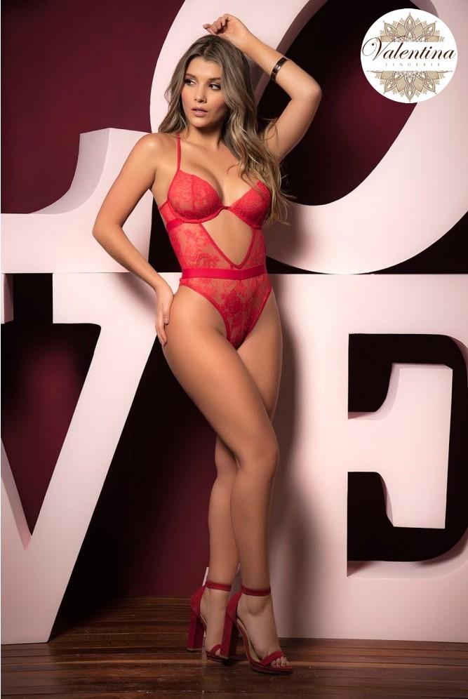 body rouge Thalia