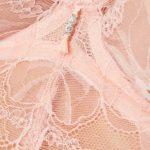 Soutien-gorge en dentelle rose et armatures Charlize